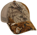 Outdoor Cap 430PC Washed Camo with Mesh Back