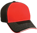 Outdoor Cap BTP-100 Twill Cap w/ Visor Piping Accent
