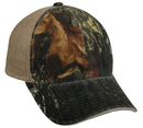 Outdoor Cap CGWM-301 Garment Washed Camo with Mesh