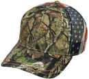 Outdoor Cap CWF-400M Mossy Oak Flag Cap