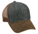 Outdoor Cap DNB-100M Denim Front with Weathered Cotton Visor