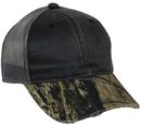 Outdoor Cap HPC-500M Weathered Cotton, Camo Visor Cap