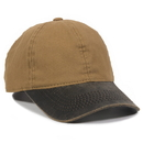 Outdoor Cap HPK-100 Weathered Cotton Visor, 6 Panel