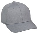 Outdoor Cap HTR-100 Heathered 6 Panel Cap