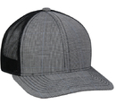 Outdoor Cap MBW-800S Plaid Platinum Series Mesh Back