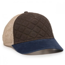 Outdoor Cap QLT-100M Quilted Soft Buttery Twill Front Panels