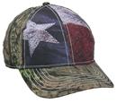 Outdoor Cap SUS-100 American Flag/ Camo Cap