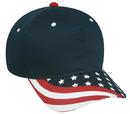 Outdoor Cap USA-535 Screen Print American Flag