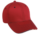 Outdoor Cap USA-800 Structured with Flag Sandwich