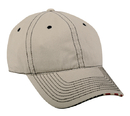 Outdoor Cap USA-850 Garment Washed with Flag Sandwich