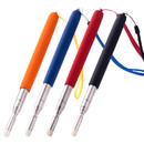 Muka 4 pcs Telescopic Teaching Pointer with Felt Nibs Extendable Presentation Hand Pointer Stick for Teachers Class