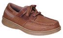 Orthofeet 427 Baton Rouge - Men's Boat Shoe - Lace, Sand