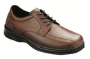Orthofeet 467 Gramercy, Men's Dressy Oxford - Lace, Brown