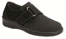 Orthofeet 825 Wichita, Women's Stretchable - Hook & Loop Strap - Washable, Black