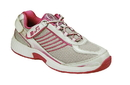 Orthofeet 973 Verve, Women's Athletic - Tie-Less Lace, Fuchsia