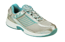 Orthofeet 975 Verve, Women's Athletic - Tie-Less Lace, Turquoise