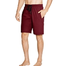 Hanes 01005 Men's Jersey Lounge Drawstring Shorts with Logo Waistband 2-Pack
