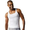 Hanes 018HNT ComfortSoft TAGLESS Men's Big & Tall Ribbed Tank Undershirt 3-Pack
