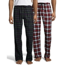 Hanes 02006-2 Men's Flannel Pant 2-Pack