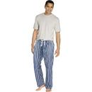 Hanes 03015 Men's Sleep Set with Woven Knit Pants