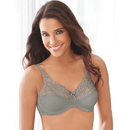 Lilyette 0428 Tailored Minimizer Bra With Lace Trim
