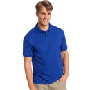 Hanes 054X Cotton-Blend Jersey Men's Polo
