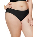 Just My Size 1412C5 Cool Comfort Pure Bliss Bikinis, 5-Pack