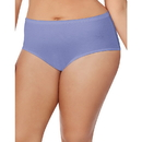 Just My Size 1610P8 Cotton TAGLESS Brief Panties — 8-Pack