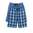 Hanes 25170 Men's Woven Plaid Shorts 2-Pack