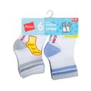 Hanes 26T6 Infant Boys Crew socks P6