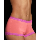 Maidenform 40760 Microfiber and Lace Boyshort
