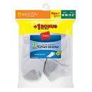 Hanes 424/11 EZ-Sort Boys' No-Show Socks 11-Pack (Includes 1 Free Bonus Pair)