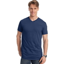 Hanes 498V Men's Nano-T V-Neck T-Shirt