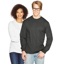 Hanes 5186 Adult Beefy-T Long-Sleeve T-Shirt