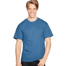 Hanes 5590 TAGLESS Pocket T-Shirt