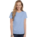 Hanes 5680 Women's Relaxed Fit Jersey ComfortSoft Crewneck T-Shirt