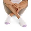 Hanes 650/6 Women's Athletic No-Show Socks 6-Pack