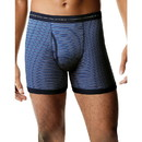 Hanes 7347Z5 Men's TAGLESS Striped Ringer Boxer Brief with Comfort Flex Waistband 5-Pack