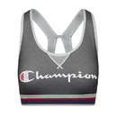Champion B1429G-549694 Women The Authenic Sports Bra-Script two colorway