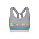 Champion B1429G 550925 Women's The Authentic Sports Bra, Color Pop Logo
