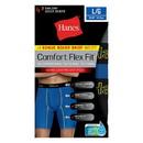 Hanes CFFLP4 Men's Comfort Flex Fit Breathable Mesh Long Leg Boxer Briefs 4-Pack (includes 1 Free Bonus Boxer Brief)