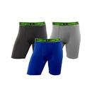 Champion CHALA1 Men's Active Performance Long Leg Boxer Brief 3-Pack