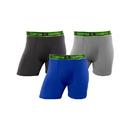 Champion CHARA1 Men's Active Performance Regular Leg Boxer Brief 3-Pack