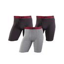Champion CHCLBG Men's Cotton Performance Long Leg Boxer Brief 3-Pack