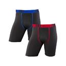 Champion CHTLA1 Men's Tech Performance Long Leg Boxer Brief 2-Pack