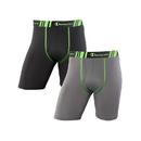 Champion CHTLA2 Men's Tech Performance Long Leg Boxer Brief 2-Pack