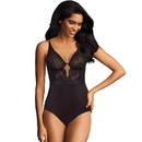 Maidenform DM0057 Body Shaper with Built-in Bra - Cool Comfort and Anti-Static