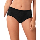 Hanes Cotton Stretch Women's Low Rise Briefs with ComfortSoft Waistband 6-Pack