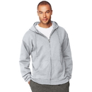Hanes F283 Men's Ultimate Cotton  Heavyweight Full Zip Hoodie
