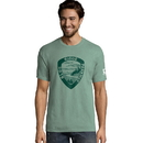 Hanes G100P Y07839 Men's ComfortWash Blue Ridge Parkway National Park Short Sleeve Tee